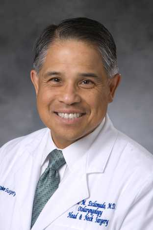 Author Ramon M Esclamado, MD, MS